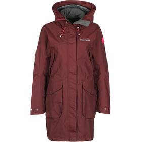 Didriksons 1913 Thelma Parka Women wine red